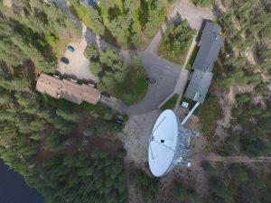 Sodankylä from above