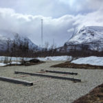Tromsø construction site for the EISCAT_3D test array