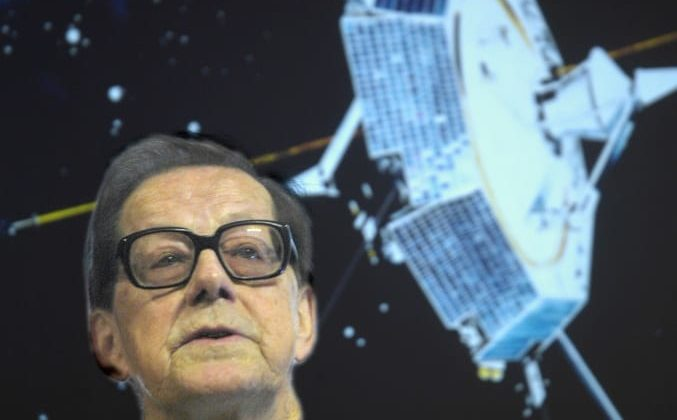 Space research pioneer Bengt Hultqvist is turning 90 years old