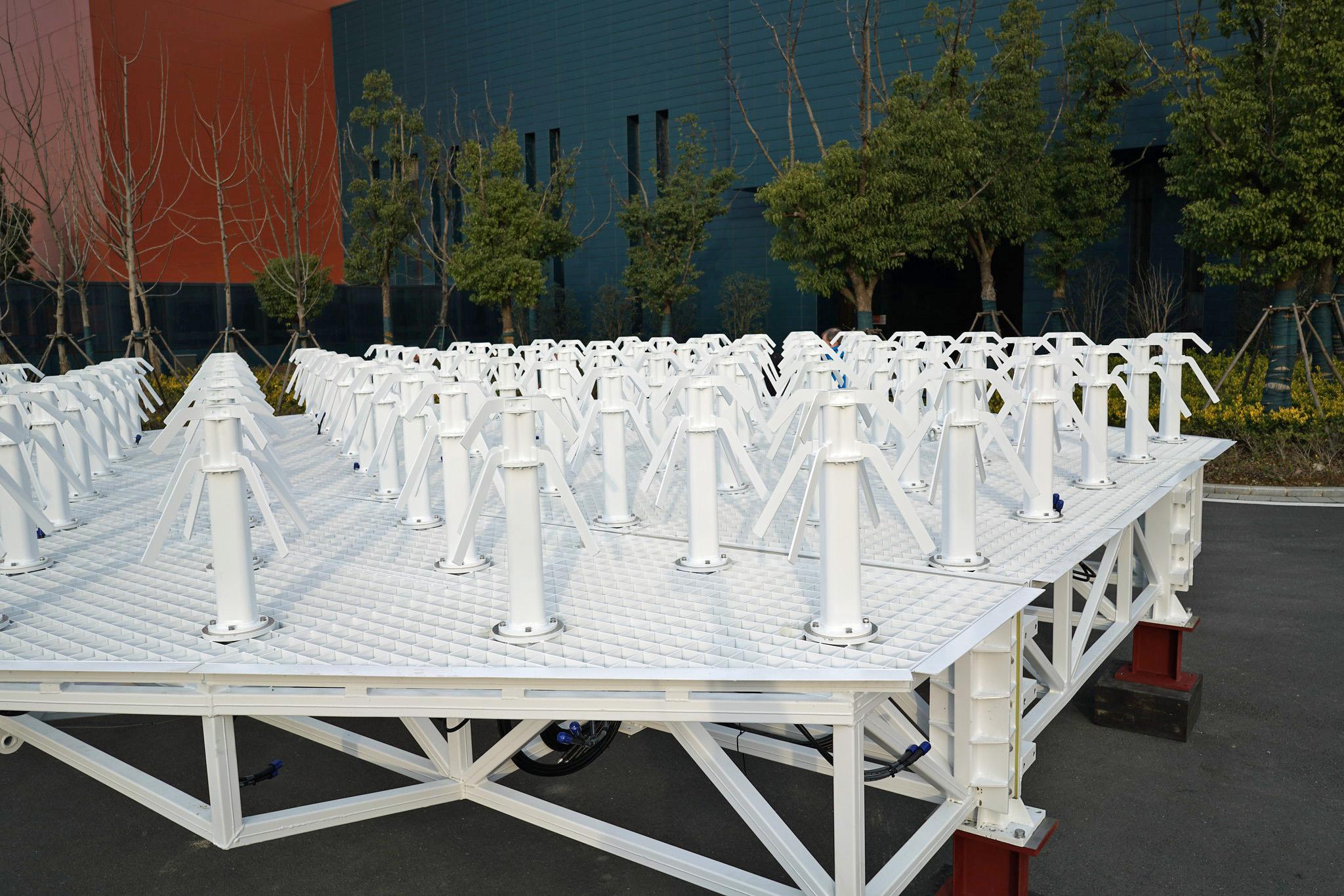 Antenna Unit Factory Visit