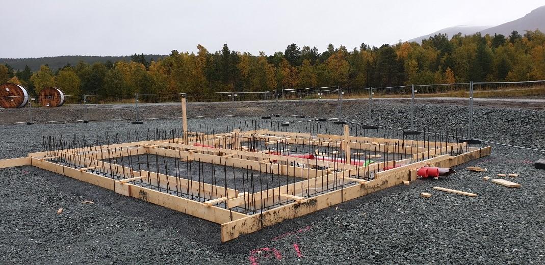 Transformer huts Skibotn September 2020